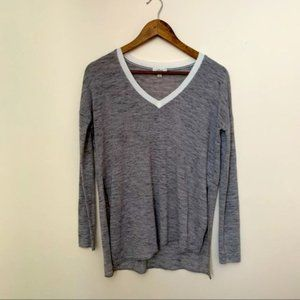 Aritzia Wilfred Long Sleeve Top with Side Slits